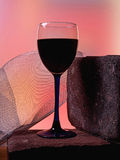 Abstract Wine Glassware Background Design Stock Image