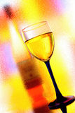 Abstract Wine Glassware. Abstract wine glassware  background design Royalty Free Stock Image