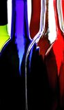Abstract Wine Glassware. Abstract wine glassware  background design Stock Photography