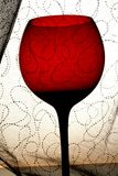 Abstract Wine Glassware Background Design Stock Images
