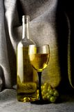 Abstract Wine Glassware Background Design Stock Photo
