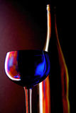 Abstract Wine Glassware. Royalty Free Stock Photography