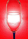 Abstract Wine Glassware Design Royalty Free Stock Photos