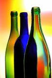 Abstract Wine Glassware Design. Abstract wine glassware background design Stock Photos