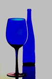 Abstract Wine Glassware Design Royalty Free Stock Photo