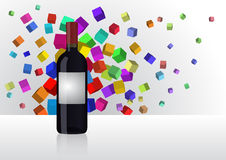 Abstract wine Royalty Free Stock Images
