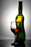 Abstract wine still life Royalty Free Stock Photos