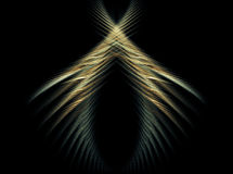 Abstract wing like background. Abstract symmetric wing like background Royalty Free Stock Photo