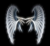 Abstract wings. Light angel wings Royalty Free Stock Photos