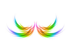 Abstract wings vector illustration