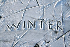 abstract winter Στοκ Φωτογραφίες