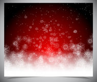 Abstract winter backgound Stock Image