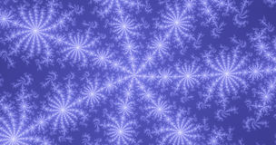 Abstract winter background. Abstract winter blue fractal background Stock Images