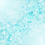 Abstract winter background. With snowflakes Royalty Free Stock Photo
