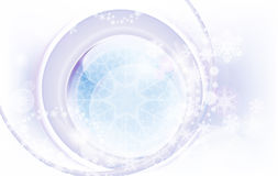 Abstract winter background. Computer illustration Stock Image