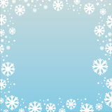 Abstract winter background Stock Photography