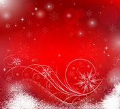 Abstract winter background royalty free illustration