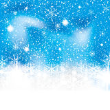 Abstract winter background. Abstract blue white winter background Stock Images
