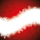 Abstract winter background. Abstract red white winter background Royalty Free Stock Photography