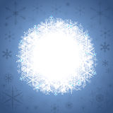 Abstract winter background. Abstract blue white winter background Stock Photography
