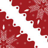Abstract winter background. Abstract red white winter background Royalty Free Stock Image