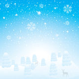 Abstract winter background. Abstract blue white winter background Royalty Free Stock Image