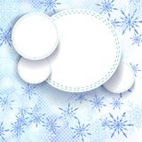 Abstract Winter background. Stock Photo