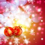 Abstract Winter background. Royalty Free Stock Images