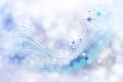 Abstract Winter background abstract bokeh.  Royalty Free Stock Photo