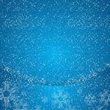Abstract winter background. Abstract winter blue background snowy Royalty Free Stock Photography