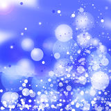 Abstract Winter background.Christmas . Stock Image