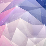 Abstract winter background. Christmas Design Royalty Free Stock Photos