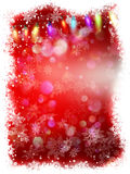 Abstract winter background with copy space. EPS 10 Royalty Free Stock Photos
