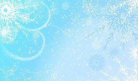 Abstract winter background design. Vector Royalty Free Stock Images
