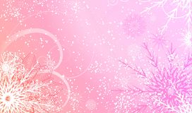 Abstract winter background design. Vector Stock Images