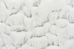 Abstract winter background with frost and snow for design Royalty Free Stock Photos