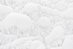 Abstract winter background with frost and snow for design Stock Photo