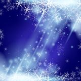 Abctract winter background. Abstract winter background with snowflakes. Vector illustration royalty free illustration