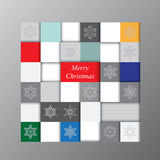 Abstract winter background. stock . geometric shape. chris Stock Photography