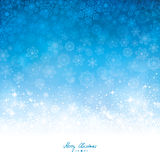 Abstract winter background. Vector illustration Royalty Free Stock Images