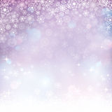 Abstract winter background. Vector illustration Royalty Free Stock Photo