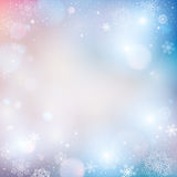 Abstract winter background. Vector illustration Stock Photo