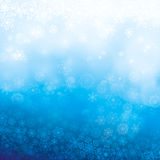 Abstract winter background. Vector illustration Stock Images