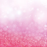 Abstract winter background. Vector illustration Stock Photos