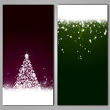 Abstract Winter Banners Stock Photo