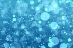 Abstract winter blue background Stock Images