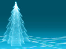 Abstract winter blue illusion Royalty Free Stock Photo