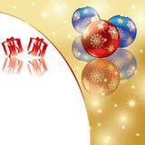 Abstract winter Christmas background Royalty Free Stock Image