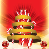 Abstract winter Christmas background Royalty Free Stock Images
