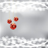 Abstract winter Christmas background Stock Photos